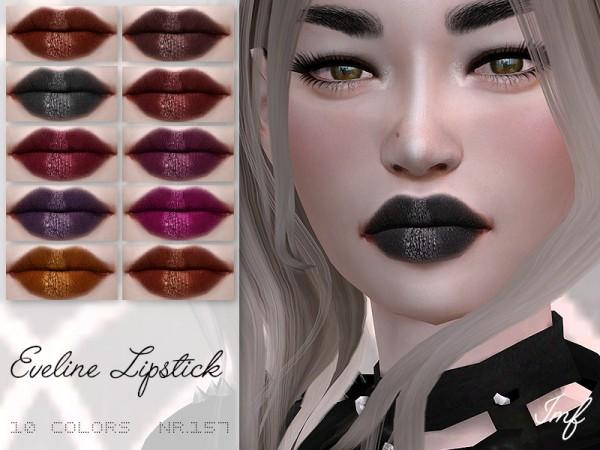 The Sims Resource: Eveline Lipstick N.157 by IzzieMcFire