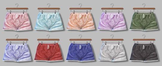 Descargas Sims: Velvet Shorts