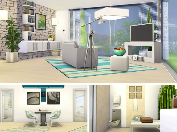 The Sims Resource: Pure Dream house by Lhonna