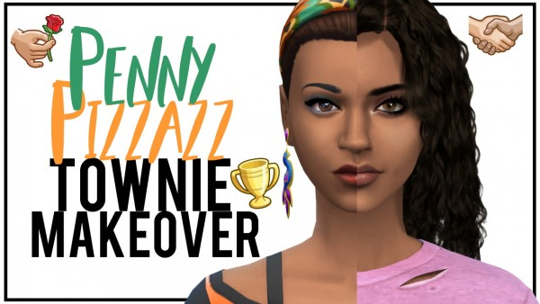 Models Sims 4: Penny Pizzazz
