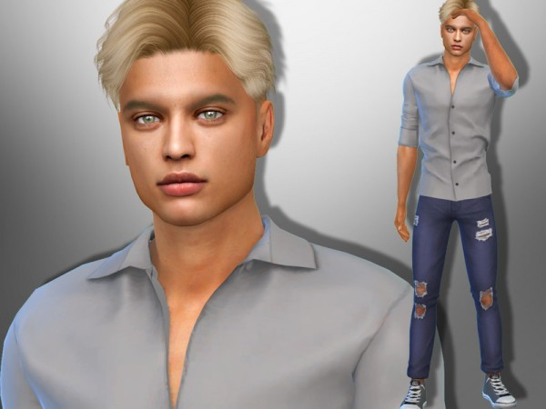 The Sims Resource: Harry Rush by divaka45