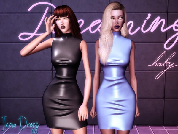The Sims Resource: Irma Dress by Genius666
