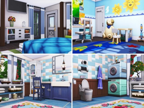The Sims Resource: By The Sea House by MychQQQ