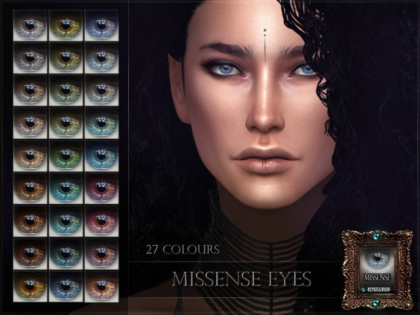 The Sims Resource: Missense Eyes by RemusSirion