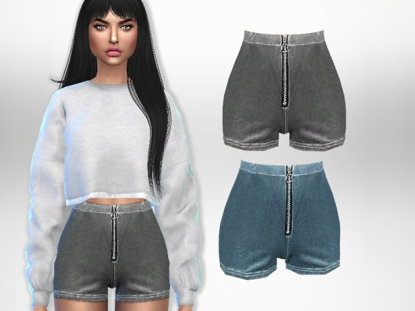 The Sims Resource: Athletic Shorts by Puresim