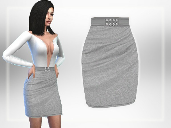 The Sims Resource: Grey Skirt by Puresim