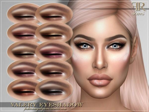 The Sims Resource: Valery Eyeshadow by FashionRoyaltySims