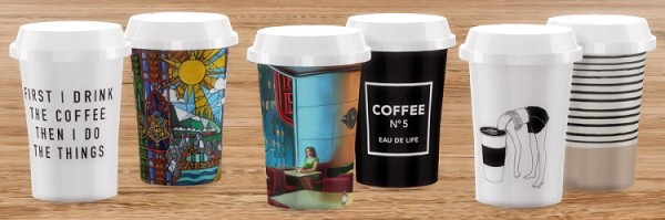 Descargas Sims: Paper Coffee Cups