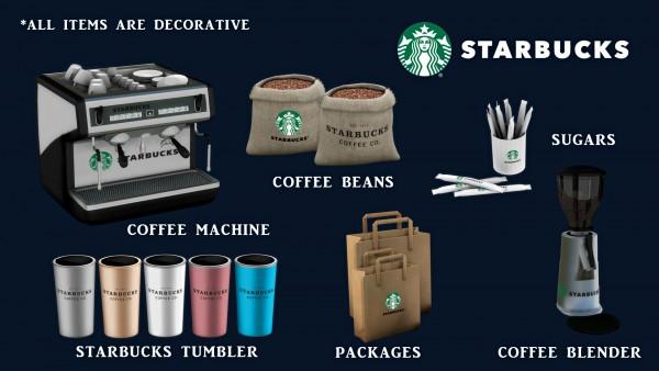 Leo 4 Sims: Starbucks