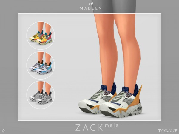 The Sims Resource: Madlen Zack Shoes Male by MJ95