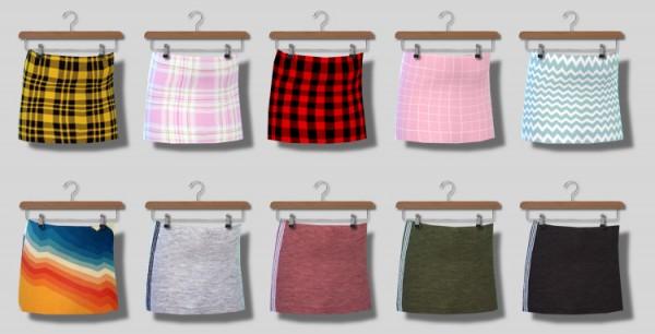 Descargas Sims: Short Skirts