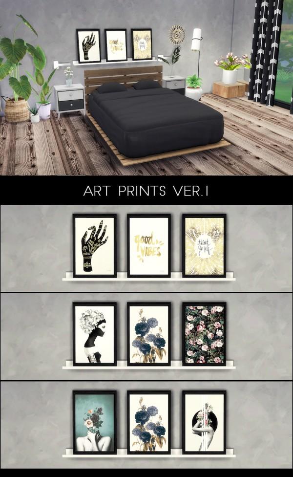 Kenzar Sims: Art prints ver 1