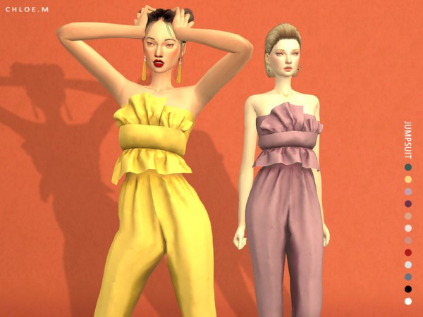 The Sims Resource: Jumpsuit by ChloeMMM