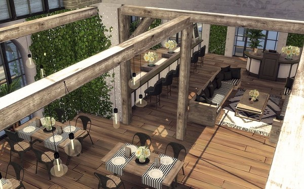 Blooming Rosy: Skylight Restaurant and Bar