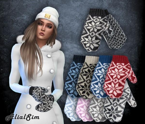 Alial Sim: Selbu Gloves