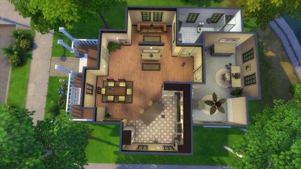 Mod The Sims: Crick Cabana NO CC by iSandor