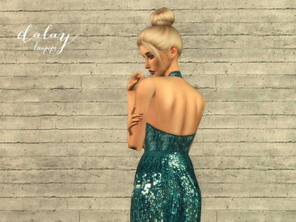The Sims Resource: Dalay Dress by laupipi