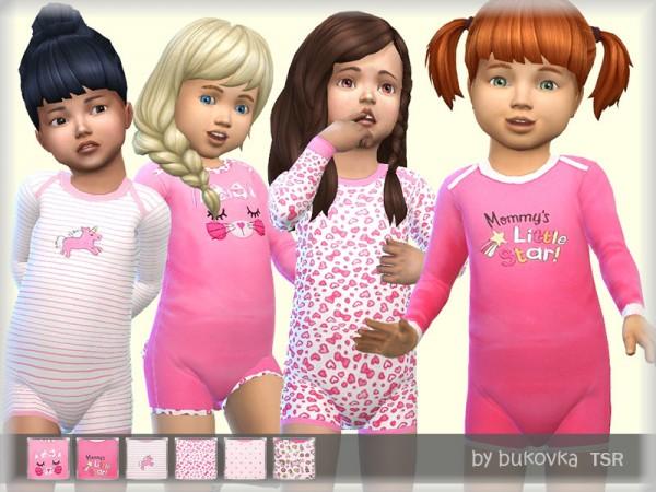 The Sims Resource: Kombidress Little Star by bukovka