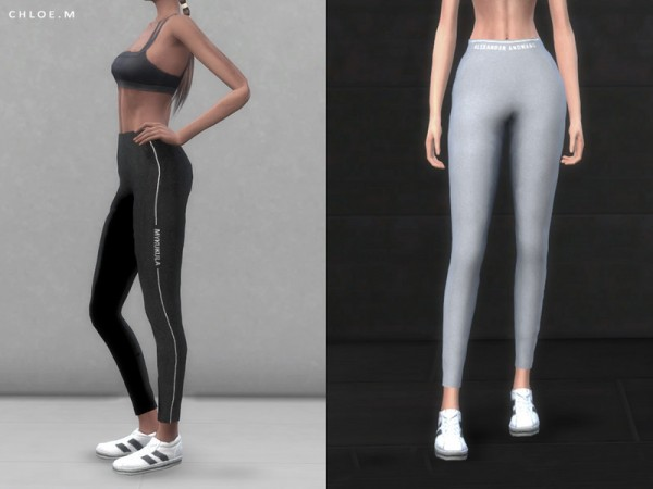 The Sims Resource: Sports Legging by ChloeMMM