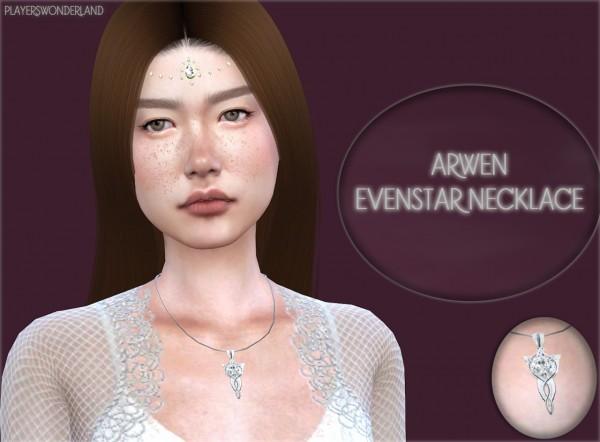 Players Wonderland: Arwen Evenstar Necklace