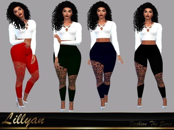 The Sims Resource: Leggings Raquel by LYLLYAN