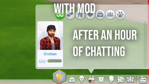 Mod The Sims: Long Term Relationship Building by Wiggler