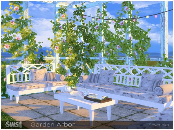 The Sims Resource: Garden Arbor by Severinka