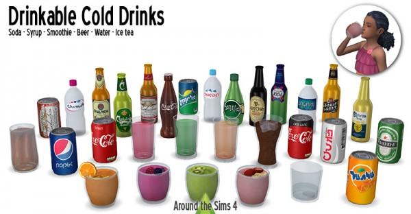 Around The Sims 4: Cold drinks