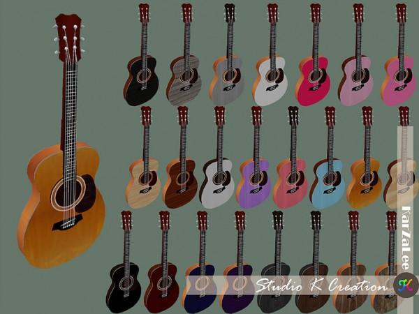 Studio K Creation: Basic handle guitar   Toddler version