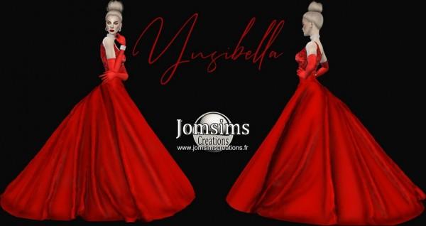 Jom Sims Creations: Ynsibella Dress