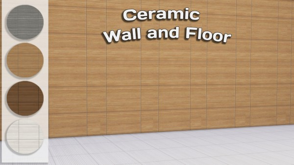 Simming With Mary: Wall and Floor Tiles