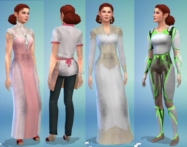 Mod The Sims: Dirt overlay accessorie for all clothes by Velouriah
