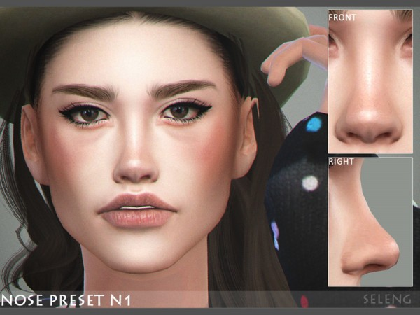 The Sims Resource: Nose Preset N1 by Seleng