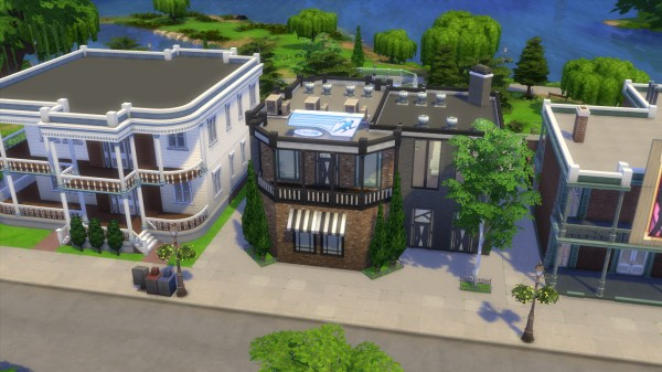 Mod The Sims: Movers & Shakers Gym renew by iSandor