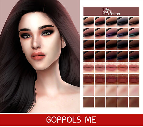 GOPPOLS Me: Stay Matte Collection