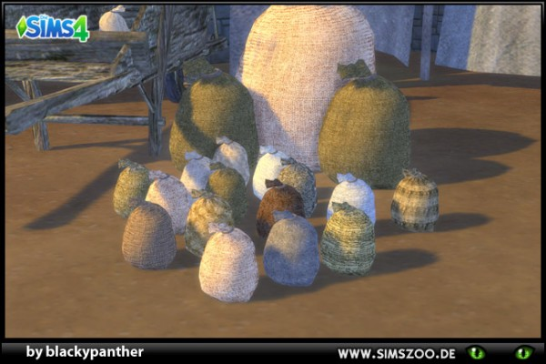 Blackys Sims 4 Zoo: Middle Age Market Sack1 Small by  blackypanther
