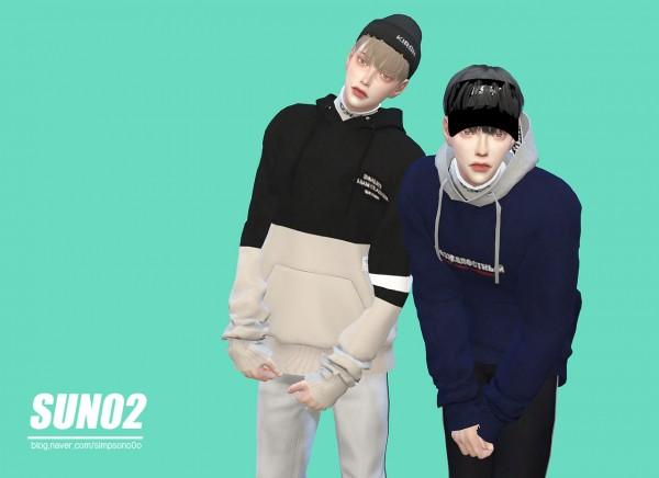 SUN02: Lomort hoodie