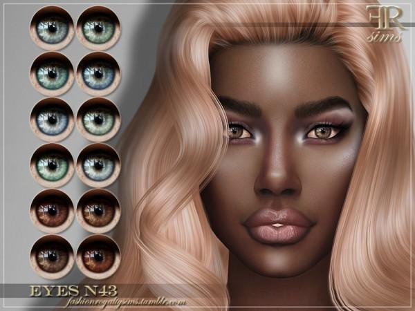 The Sims Resource: Eyes N43 by FashionRoyaltySims