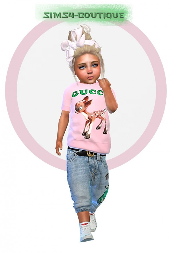 6b3d42dd5 Sims4-boutique: Designer Set for Toddler Girls