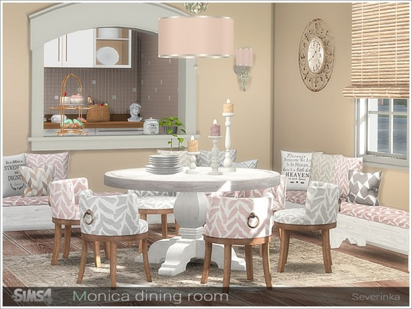 The Sims Resource: Monica diningroom by Severinka
