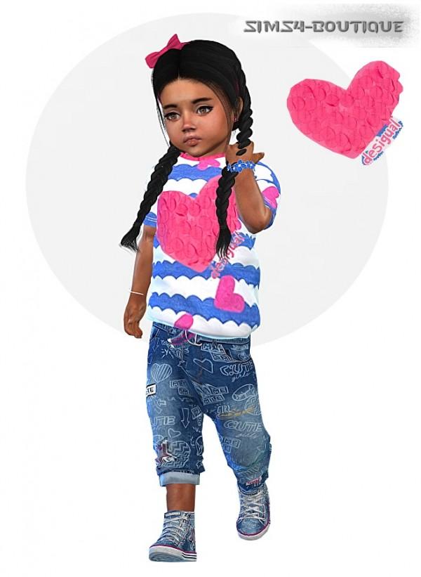 Sims4 Boutique Designer Set For Toddler Girls Sims 4
