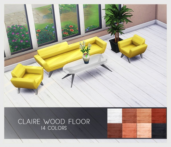 Kenzar Sims: Claire Wood Floor