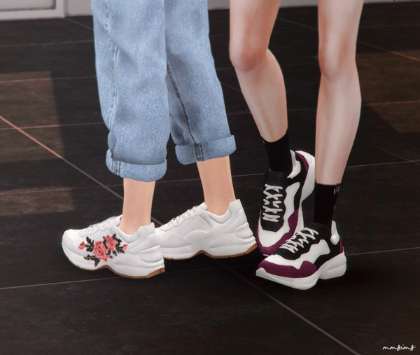 Mmsims Rhyton Shoes Sims 4 Downloads