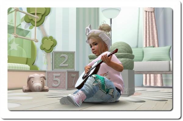 Sims4 boutique: Designer Set for Toddler Girls