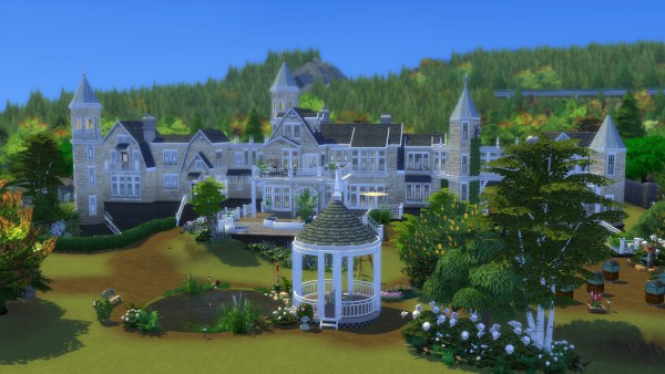 Mod The Sims: Chateau Bellevue   No CC! by Chaosking