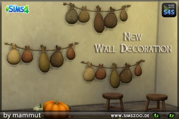 Blackys Sims 4 Zoo: Hanging Bags by mammut