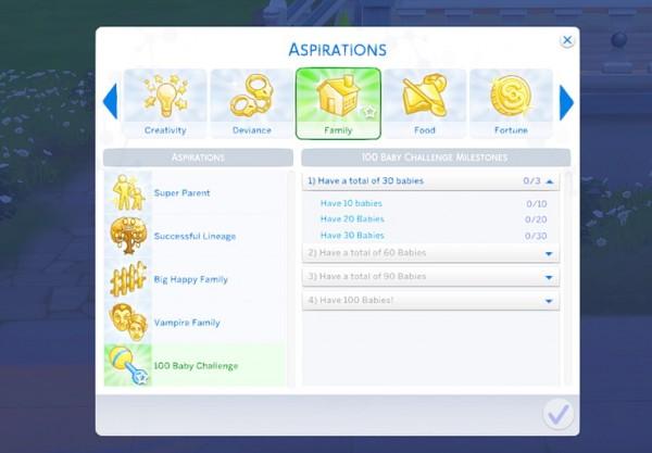 Kawaiistacie: 100 Baby Challenge Mod