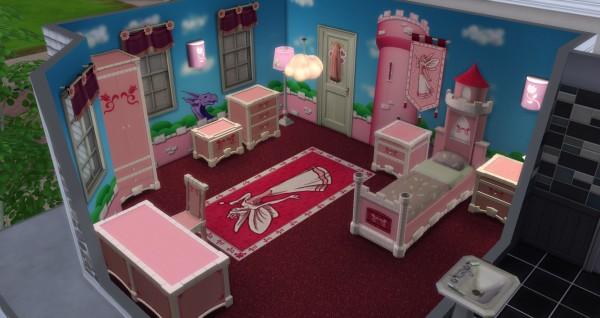 Mod The Sims: Castle bathroom by simsi45