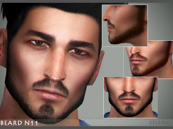 The Sims Resource: Beard N11 by Seleng