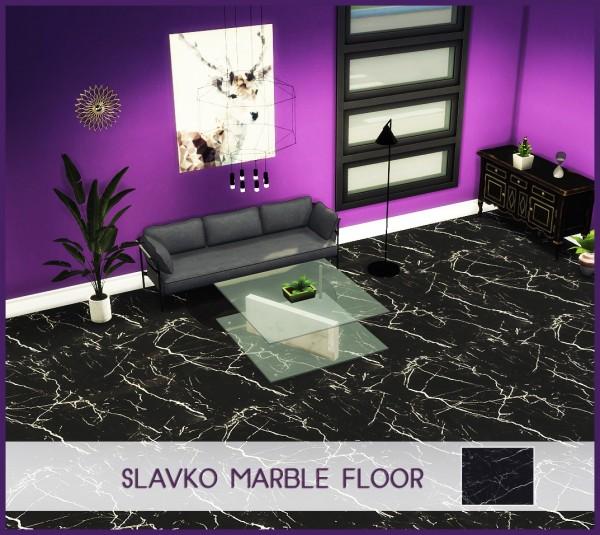 Kenzar Sims: Slavko Marble Floor